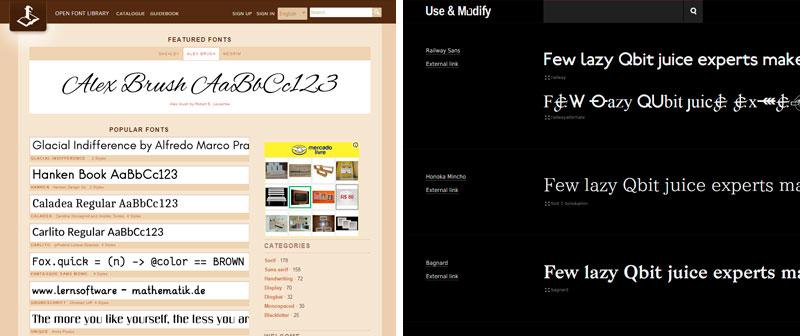 fonts grátis para você usar como quiser