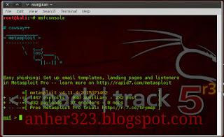 Exploit Windows Menggunakan Winrar dengan Metasploit (Beda Jaringan)