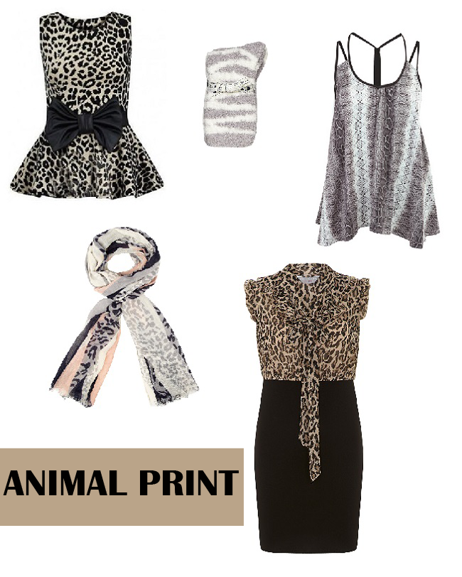 Animal Print Wishlist, Animal print trend