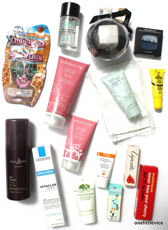 one little vice beauty blog: beauty giveaway origins dr paw paw neal & wolf balmi