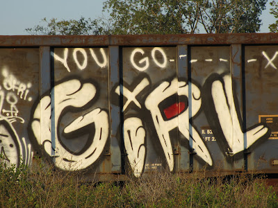 You Go Girl Graffiti Detroit