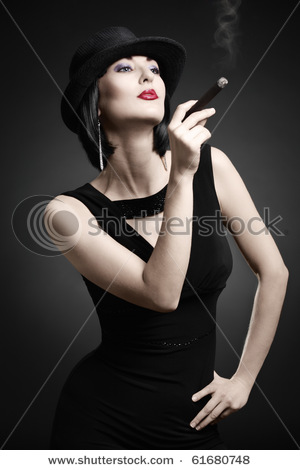 Cigars female smoking cigarettes and smokers