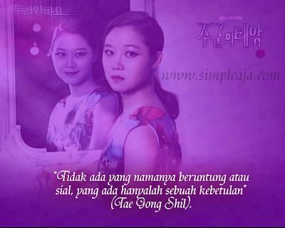 """Kutipan Drama Korea Master Sun"""