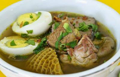 Resep Soto Daging Sapi Madura Spesial Enak