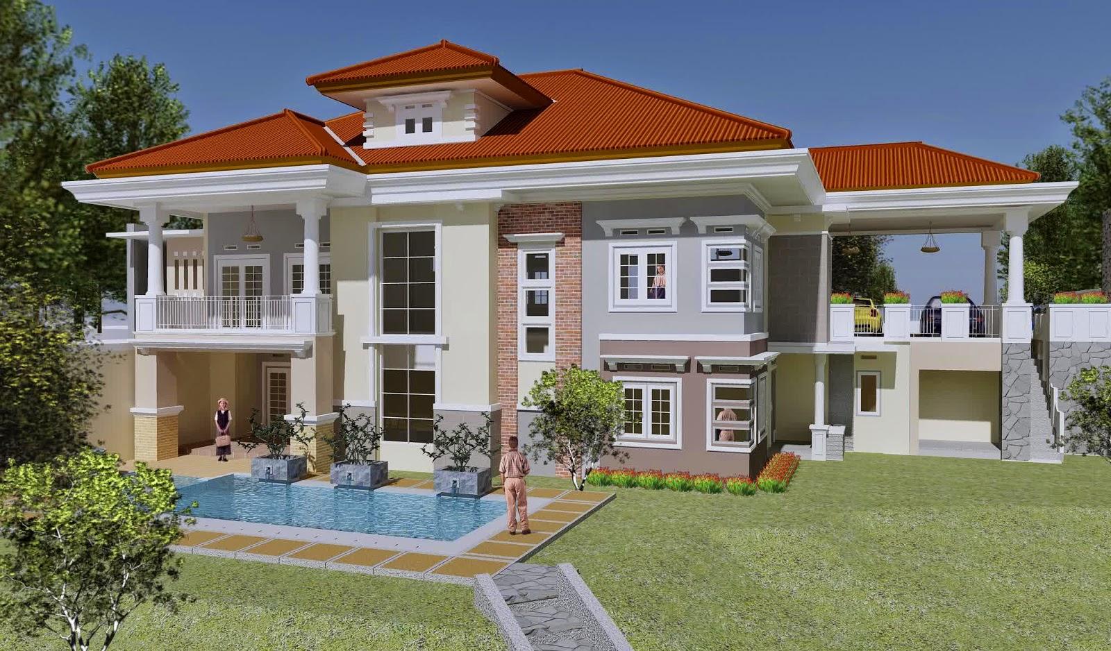 Gambarjitucom via gambarjitu.com. Desain Rumah Mewah ... & Desain Rumah Mewah The Sims   Sobat Interior Rumah