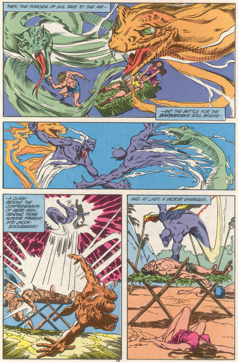 Conan the Barbarian (1970) Issue #239 #251 - English 12