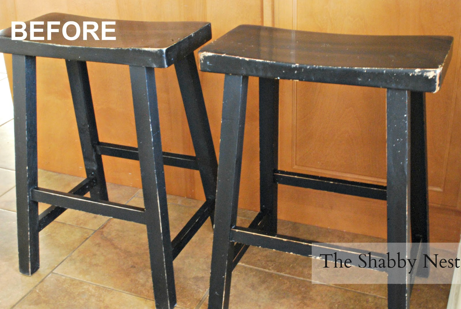 The Shabby Nest: How to Upholster Barstools and Studio 5~