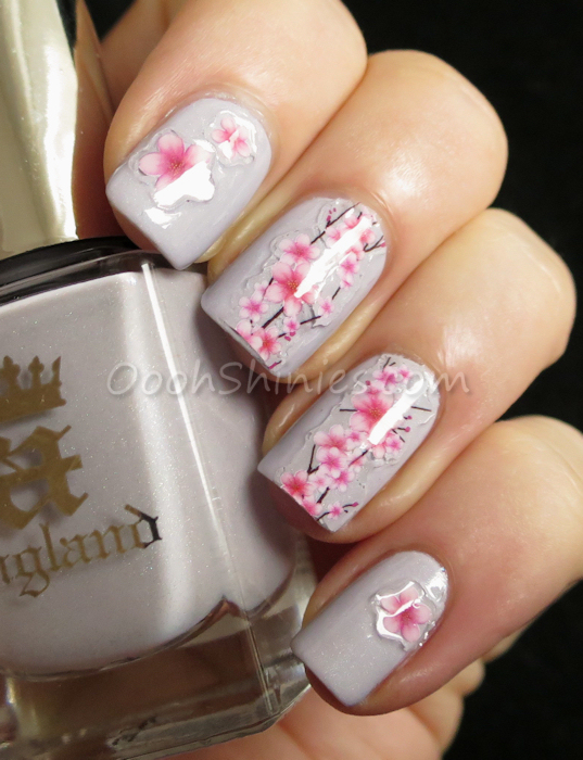 A England Cathy with BornPrettyStore stickers