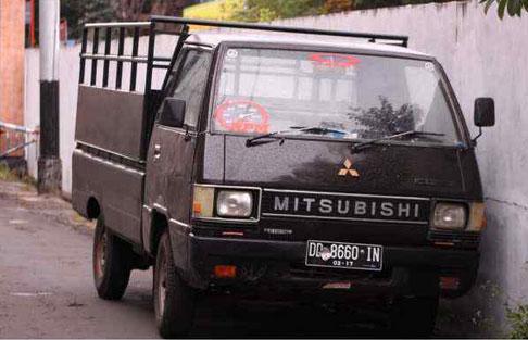 1997 mitsubishi pick up l300 mobil bekas rental mobil. Black Bedroom Furniture Sets. Home Design Ideas