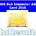 GSSSB Sub Inspector Admit Card 2016 SI Exam Date Hall Ticket