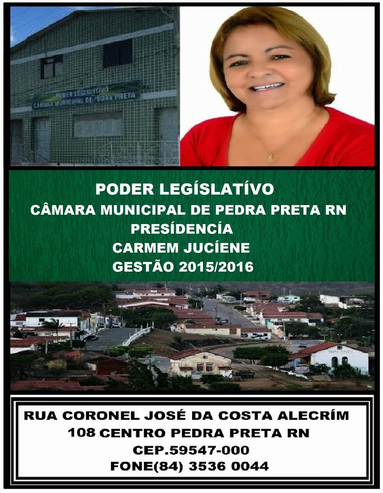 CÂMARA MUNÍCÍPAL DE PEDRA PRETA RN