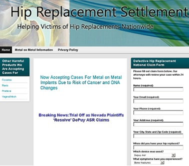 How to claim for Hip Replacement Lawsuit Settlement?