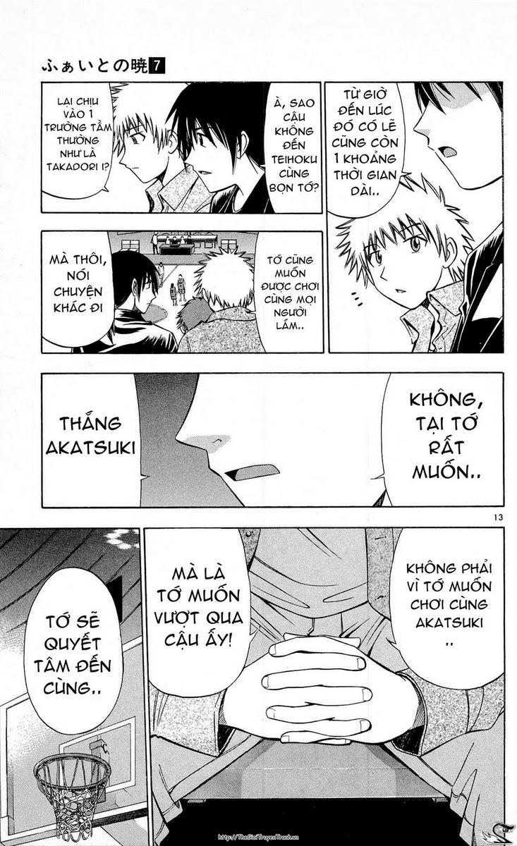 Fight no Akatsuki chap 65 Trang 13 - Mangak.info