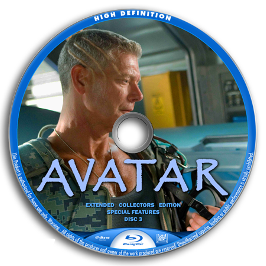 Avatar Dvd Label Art