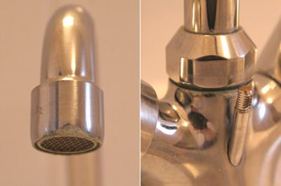 limescale accumulate on taps, remove limestone