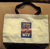 book promotion - Bly Books canvas bag