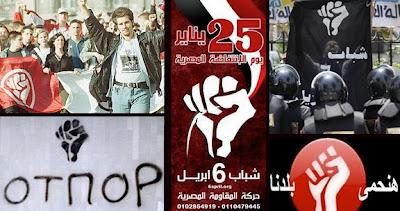 Simbol tangan fist yang digunakan dalam hampir kebanyakkan revolusi di dunia