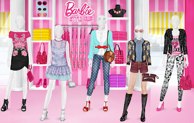 Barbie Style Club Store