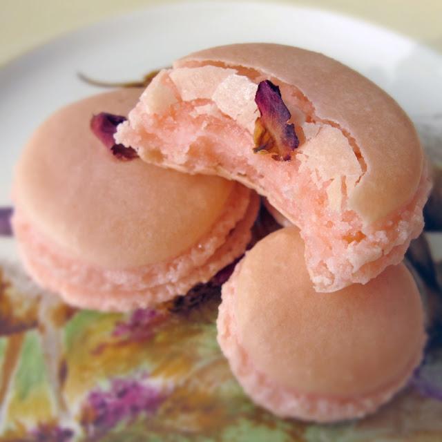 Rose Water Macaron