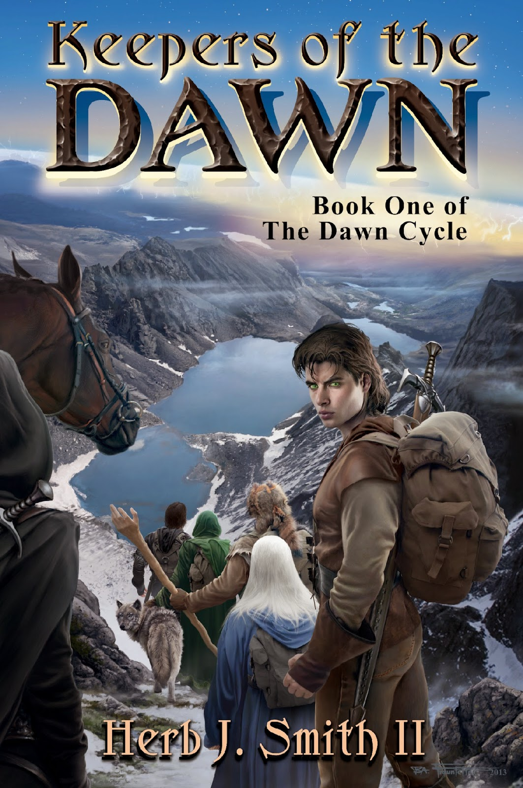 Book Blitz--> Keepers of the Dawn (The Dawn Cycle #1) by Herb J. Smith II