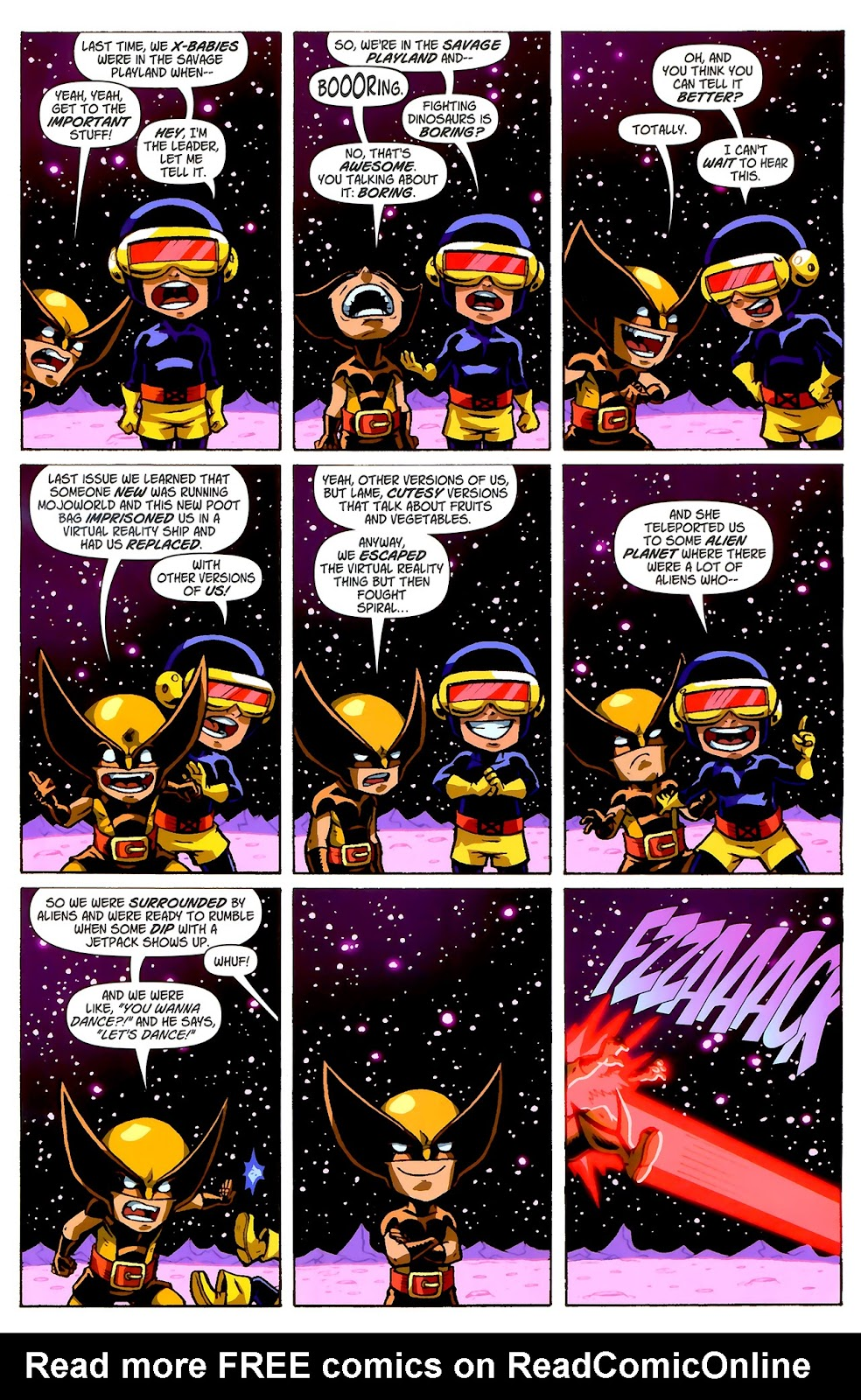 Read online X-Babies comic -  Issue #2 - 3