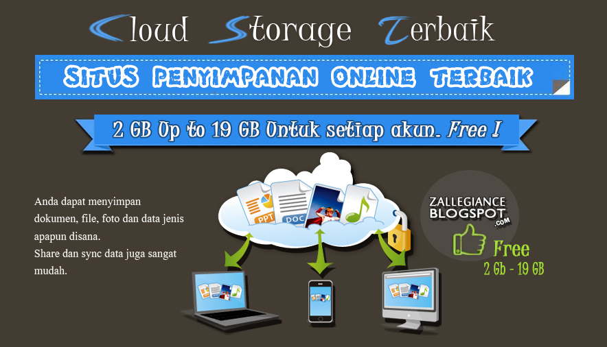 Alternatif Dropbox Free Cloud Storage Terbaik. Situs Penyimpanan Online Terbaik