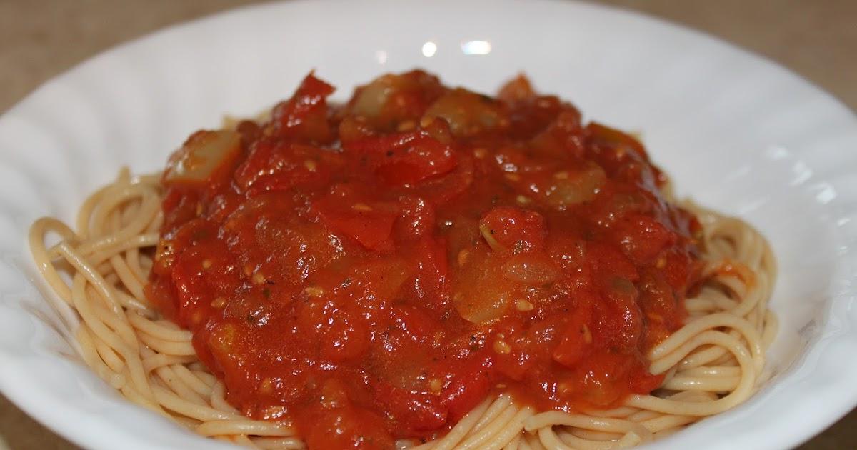 Recipes Plus More Garden Marinara Sauce
