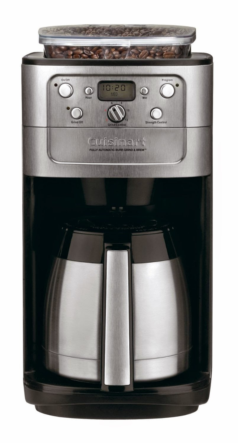 Cuisinart Thermal Coffee Maker with Built-in Grinder