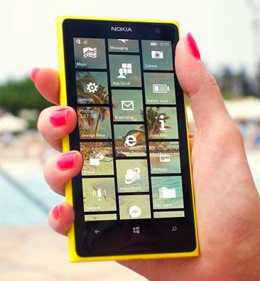 Nokia Lumia 8.1 cyan update