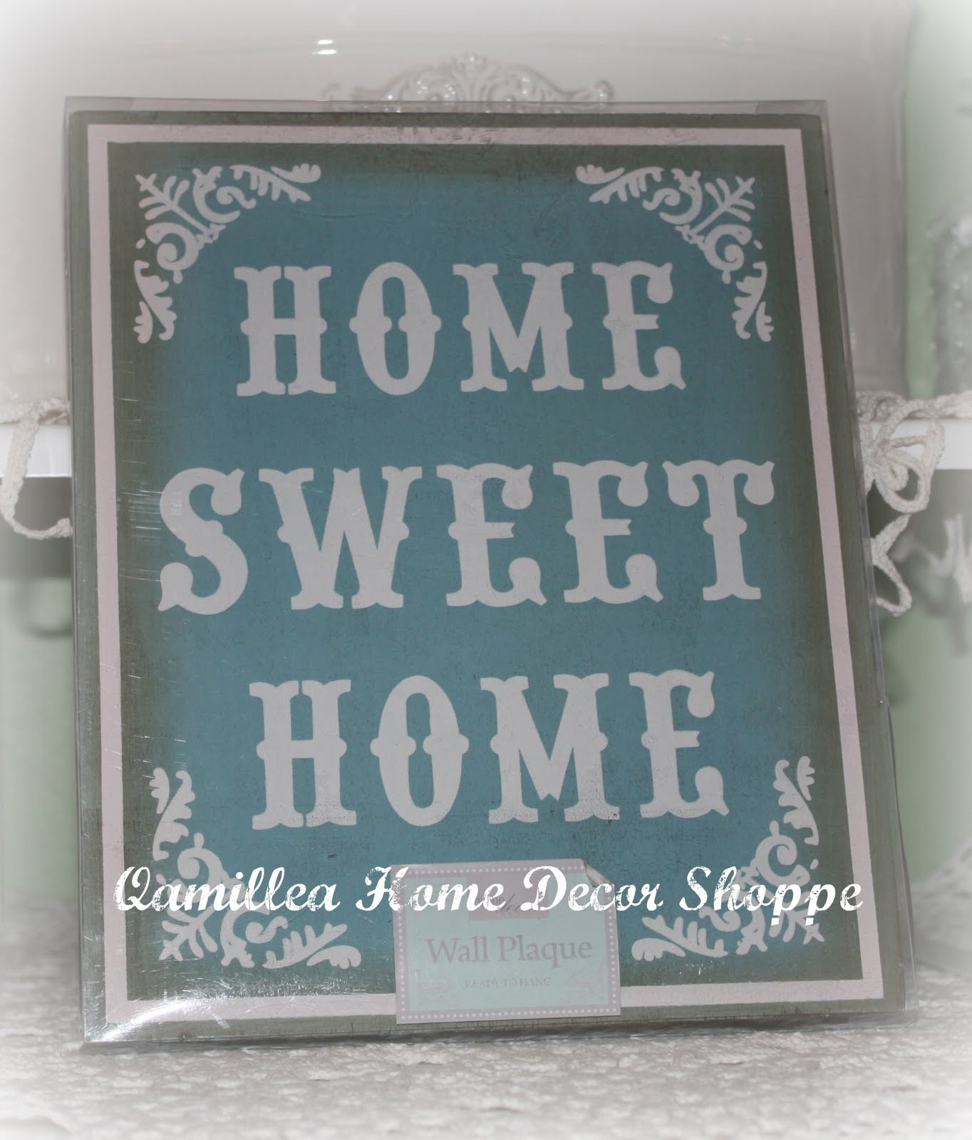 Qamillea 39 S Lodge Home Sweet Home Signage From Uk With