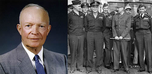 Extrañas fotografías de Marte - General Dwight David Eisenhower