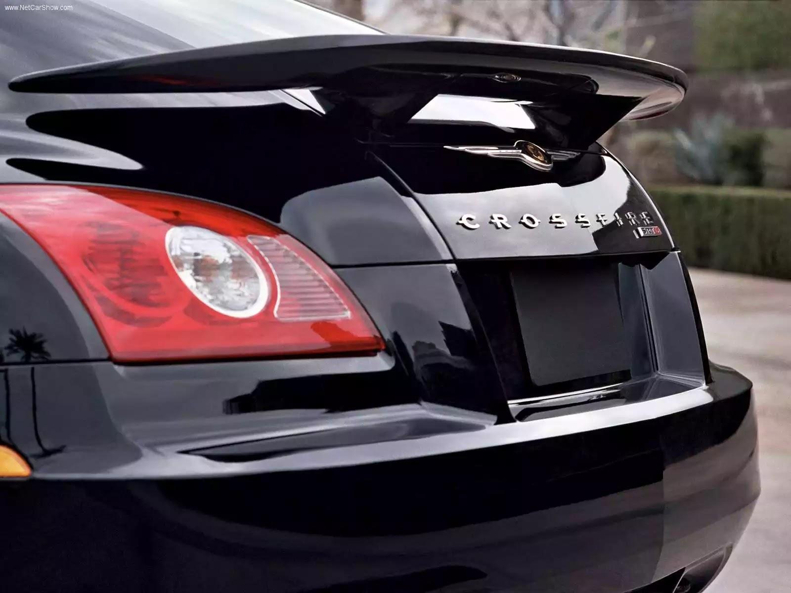Hình ảnh xe ô tô Chrysler Crossfire SRT6 2005 & nội ngoại thất