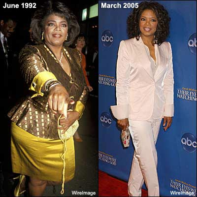 Oprah At Her Heaviest Famous women who have ...