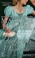 Book cover of Dangerous in Diamonds by Madeline Hunter (The Rarest Blooms #4)