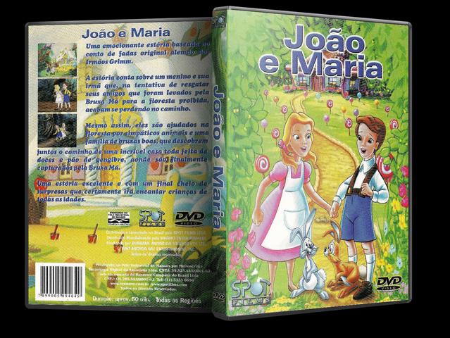 Capa DVD João E Maria