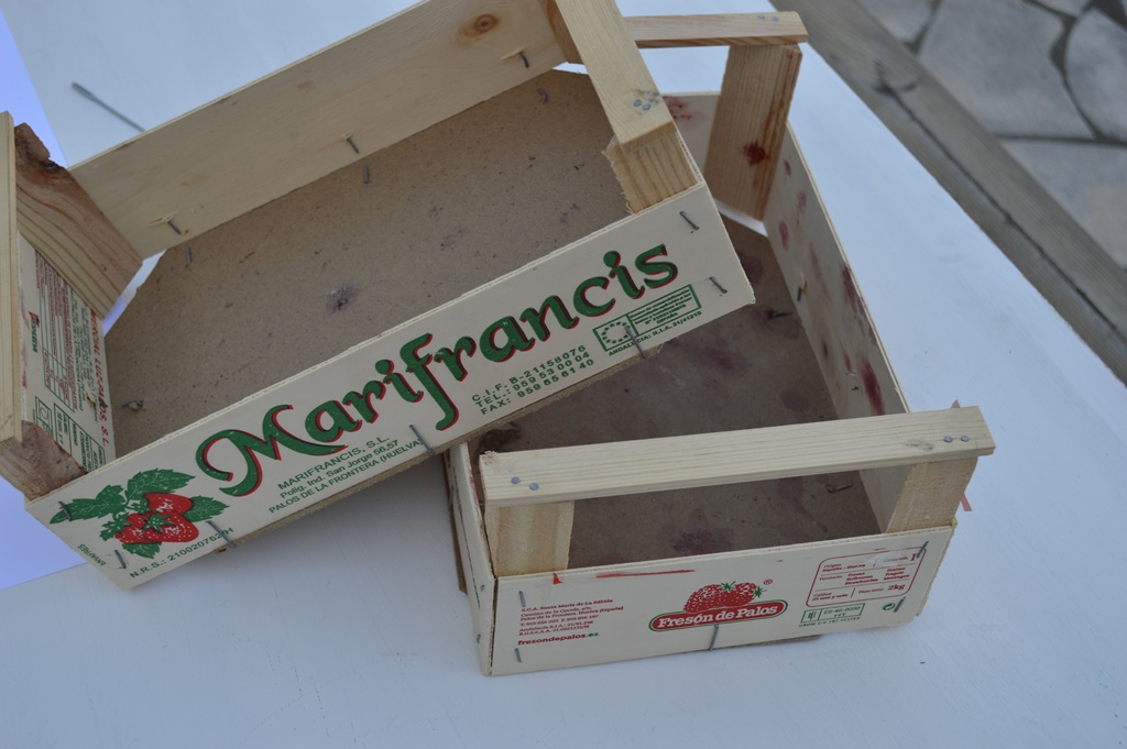 Cajas de madera para fresas materiales de construcci n - Fresas para madera ...