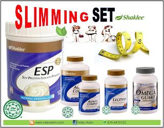 Shaklee Slimming Set Series I