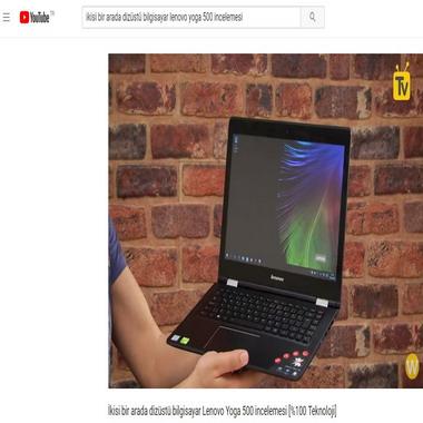 youtube com - ikisi bir arada dizüstü bilgisayar lenovo yoga 500 incelemesi