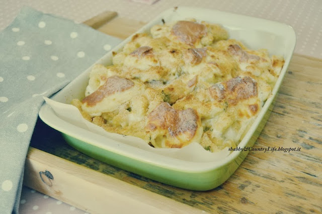 Gnocchi ai 4 Formaggi - shabby&countrylife.blogspot.it