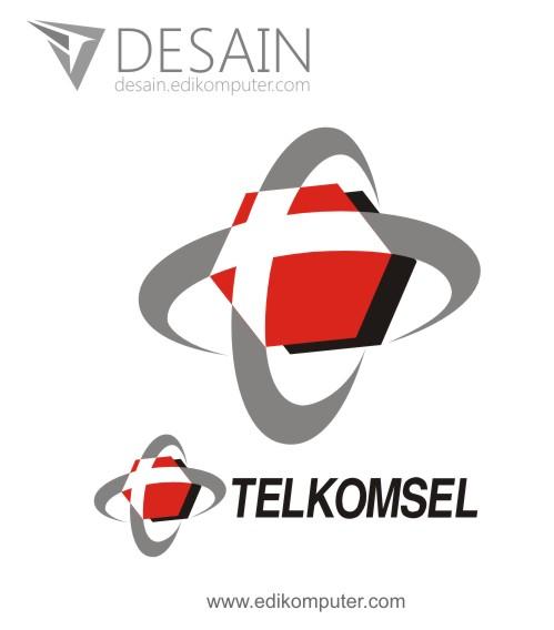 Logo Telkomsel Vektor Cdr