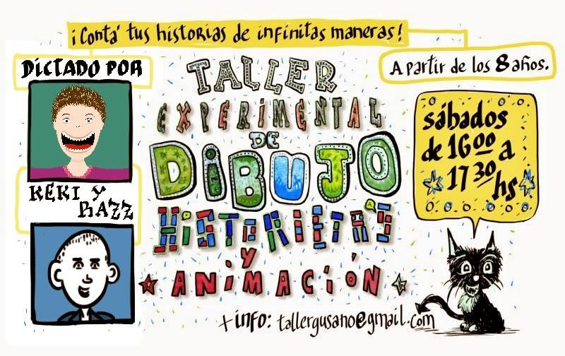Taller Experimental de Dibujo, Historietas y Animación