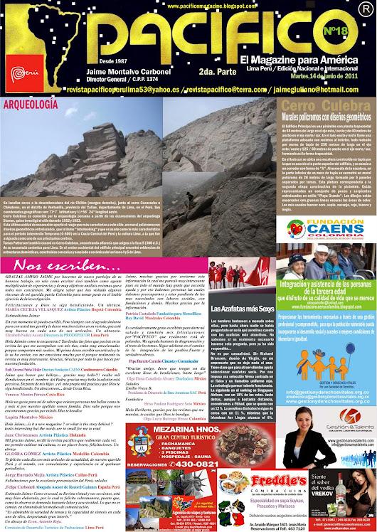 Revista Pacífico Nº 18  parte 2da.