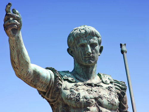 JULIUS CAESAR (100 BC-44 BC) POLITICIAN, GENERAL