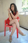 Saba Saudagar Glam photo shoot in red-thumbnail-14