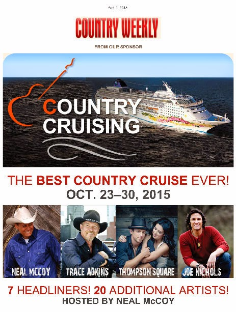 Country music festival at sea hosted by Neal McCoy