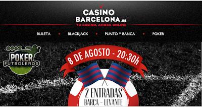 casinobarcelona gana dos entradas partido liga barcelona vs levante blog jrvm