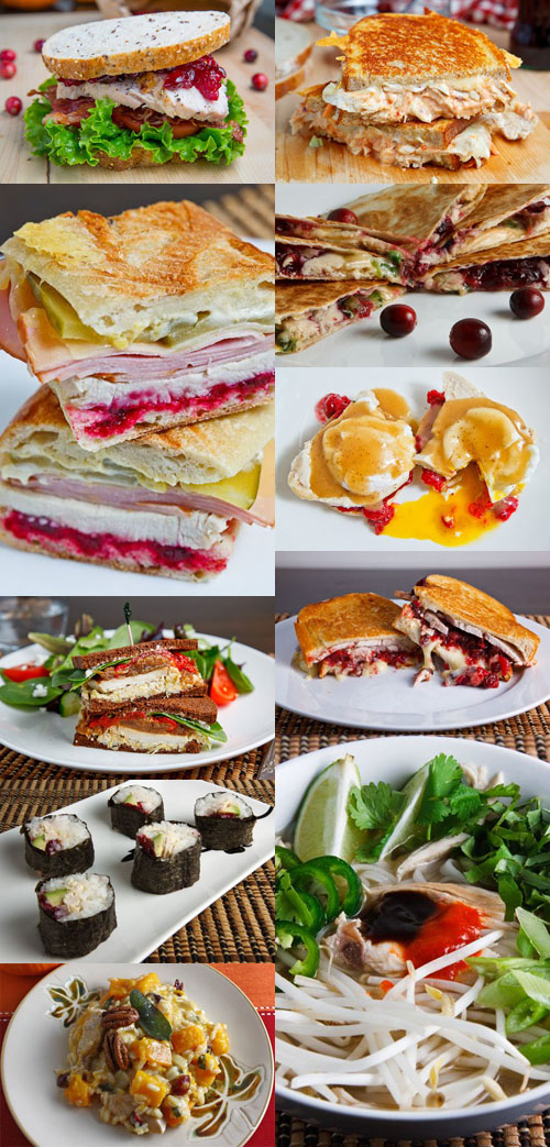 Thanksgiving Leftovers Collage