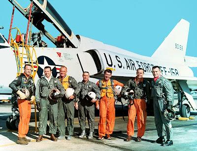 Mercury Seven Astronauts Clip Art