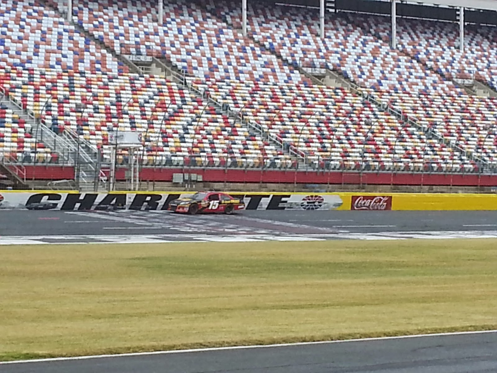 Rusty Wallace Racing Experience Ride Along At Charlotte