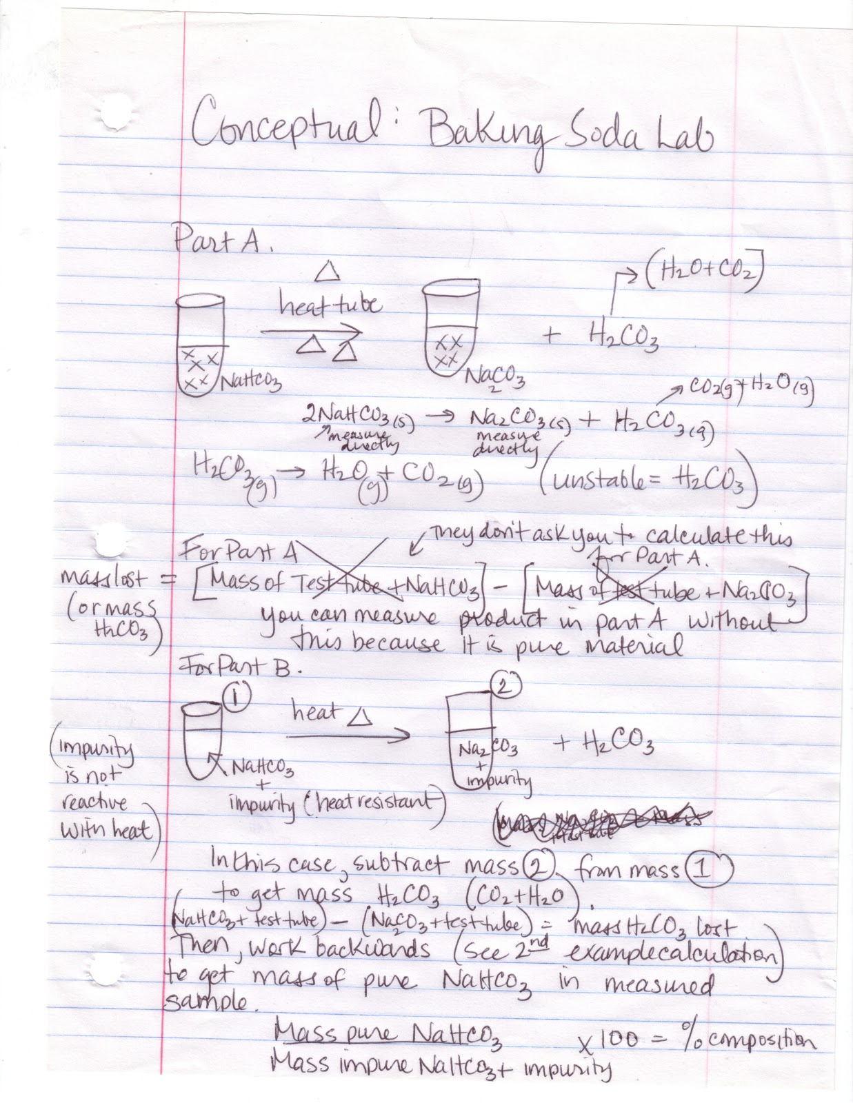Stoichiometry lab report
